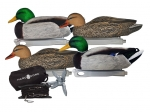 Утиные чучела Hard Core Jerk Cord Combo Floater Duck Decoy Pack